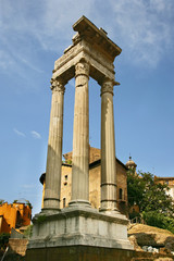 Temple of Apollo Sosiano - Ruins by Teatro di Marcello, Rome - I