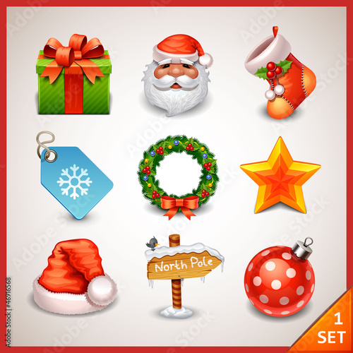 Christmas icon set-1