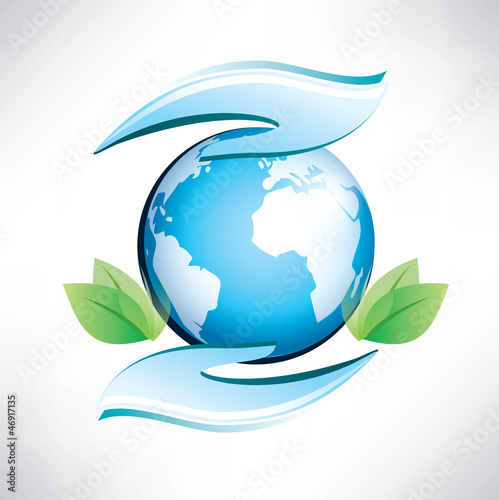 green planet, safety of environment, ecology concept