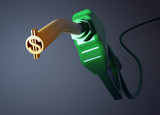 Dollar sign fuel nozzle