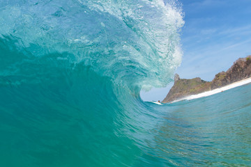 Waves in Fernando de Noronha Island in Brazil 2