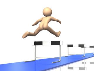 Everyone continue to run the hurdles.