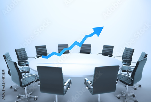 Conference table graph