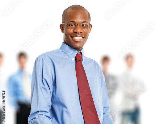 Black businessman portrait
