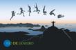 Long jump over Rio De Janeiro