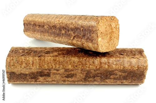 Hard wood briquettes