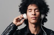 afro music headphones
