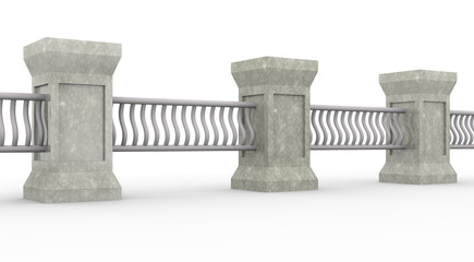 firm classic fence - design template