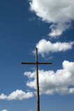 Cross at La verna in Italy