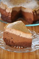 Chestnut Chocolate Cheesecake