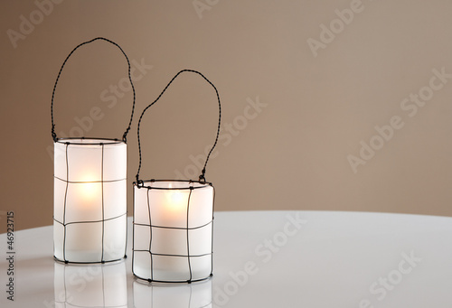 Two beautiful lanterns