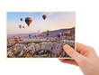 Cappadocia Turkey photography in hand
