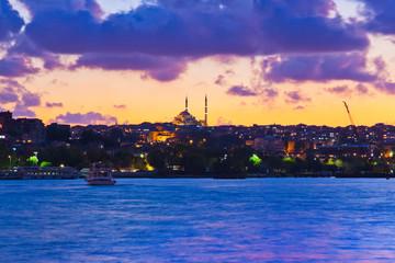 Istanbul Turkey sunset