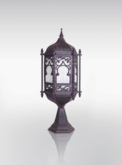 Lantern / Ramadan Lamp concept, Clipping path included