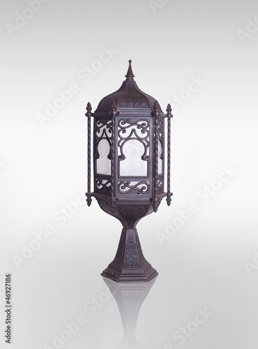 Lantern / Ramadan Lamp concept, Clipping path included