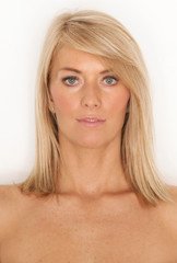 Portrait einer schönen junge Frau