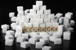 Diabetes - Zuckerwürfel