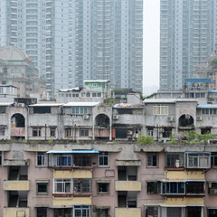 old apartments in China