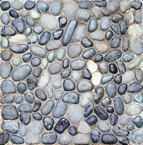 sea stones wall