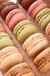 colorful macaroon