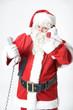 Gestresster Weihnachtsmann