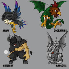 Mythical Creatures Set 02
