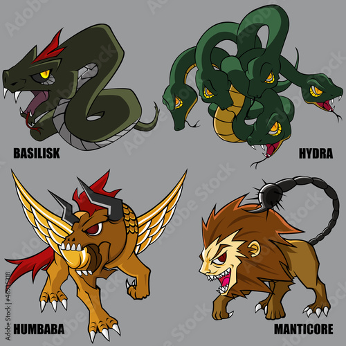 Mythical Creatures Set 01