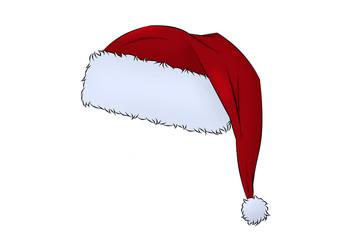 Weihnachtsmann Bommelmütze