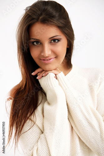 Young, beautiful, sexy and attractive girl portrait