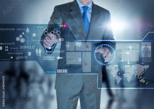 Future Technology Display