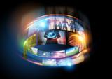 Fototapety Media World