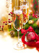 New Year Celebration. Greeting Card