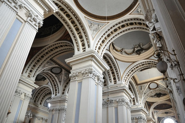 Dentro de la Basílica del Pilar (Zaragoza)