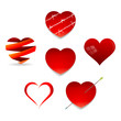 Set of Valentine Hearts