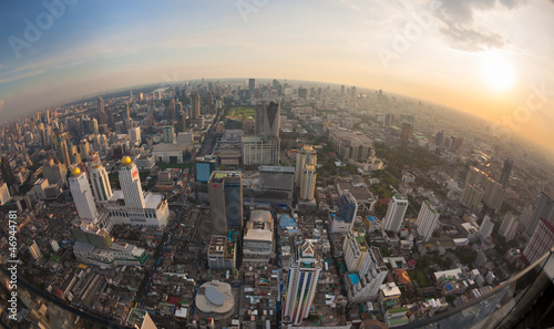 Top view city, Bangkok , Thailand