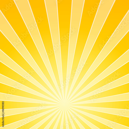Yellow Bright Light Beams
