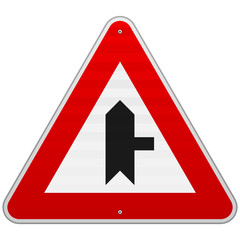 Right Junction Sign