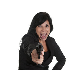 woman robber