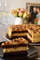 Haselnuss Karamel Torte