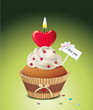 """""""I love you"""" Cupcake"""