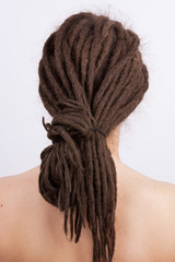 Girl with a dreadlocks