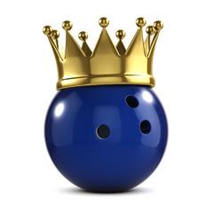 Bowling ball gold crown winner