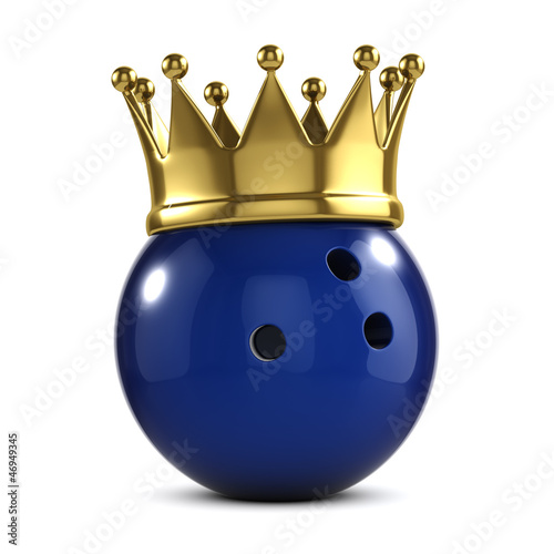Bowling ball gold crown winner
