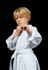 Karate kid training