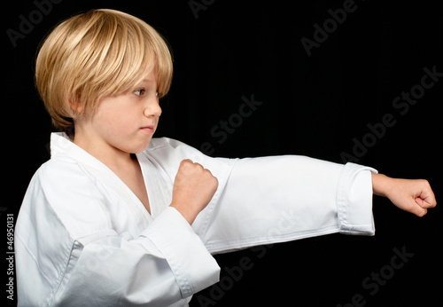 Karate punch