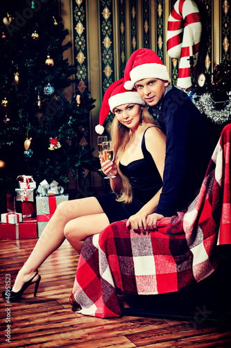 holiday couple