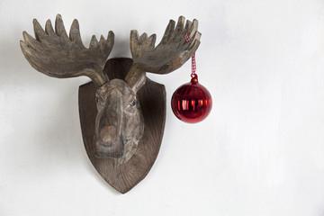 Weihnachten Elch Dekoration