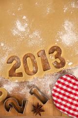 Weihnachten Backen Gebäck 2013