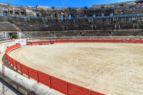 Bull Fighting Arena Nimes (Roman Amphitheater), France