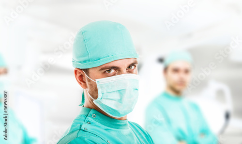 Surgeon portrait